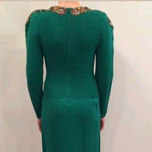 Pat Sandler Dresses - Vintage - Stunning Pat Sandler Sequin Dress Size 8